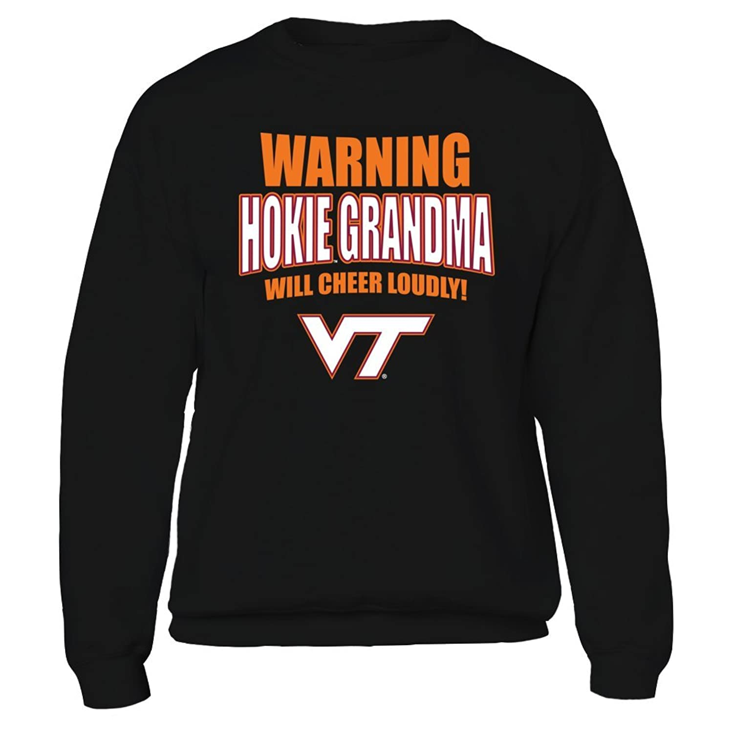 Amazon Warning Hokie Grandma Will Cheer Loudly Virginia Tech