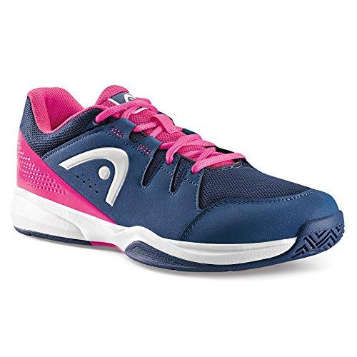 Head Brazer Women, Zapatillas de Tenis para Mujer Azul (Navy/pink)