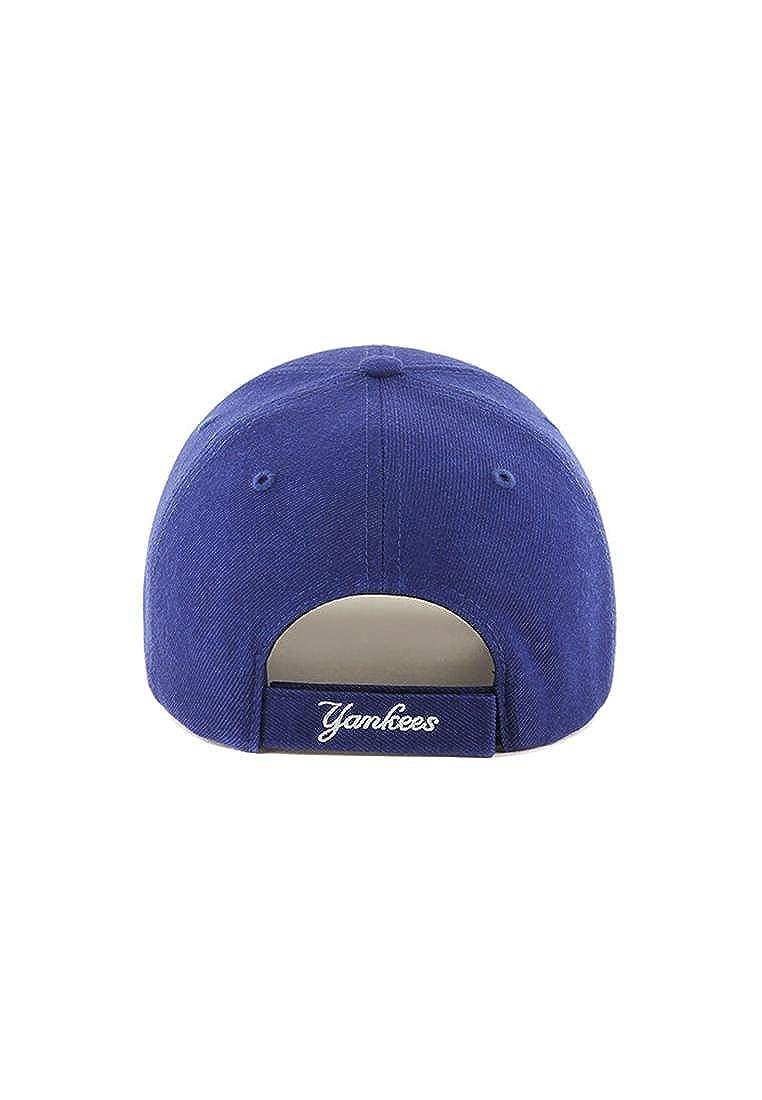 Cappellino/47 Brand Mlb New York Yankees Mvp Ajustable blu//bianco