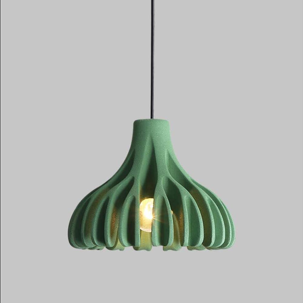 Moderno Creativo Lámpara colgante,Ajustable en altura Lámpara de mesa de comedor,Coral Diseño Colgante de luz,Resina Cuerpo de la lámpara,Isla de cocinas Dormitorio Decorativo Luces colgantes,Verde