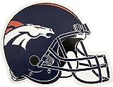 NFL Denver Broncos Outdoor Small Helmet Graphic Decal