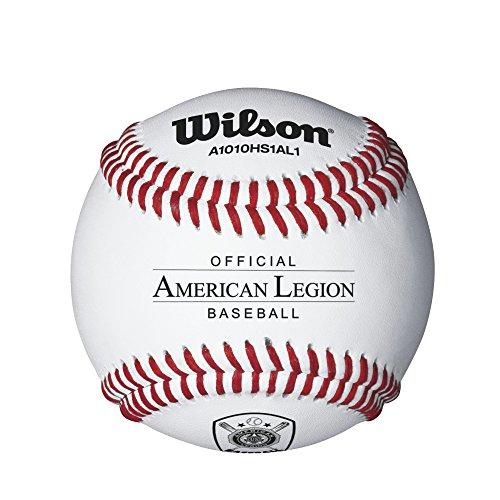 Wilson American Legion Baseballs, White by Wilson