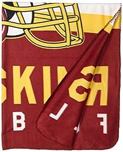 NFL Singular 50-inch by 60-inch Printed Fleece Throw