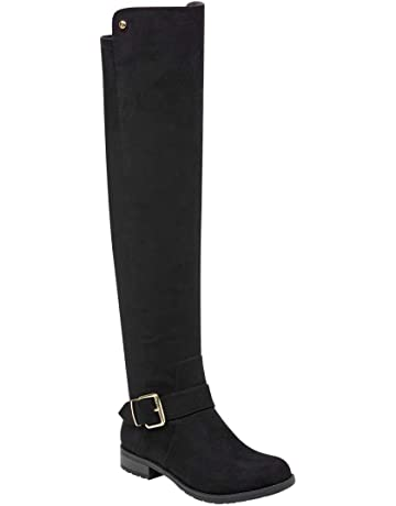e870935d4ef Women's Over the Knee Boots | Amazon.com