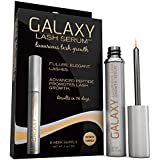 Galaxy Lash Serum - #1 World Renowned Eyelash Growth Product As Used By Industry Professionals with Patented Proprietary Peptide Blend, Luxurious Lashes Without a Prescription, Only Real Product on the Market That Has Been Opthalmoligist Tested and Dermatologist Tested