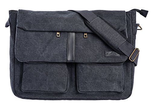canvas-and-top-layer-genuine-leather-156-inch-laptop-messenger-bag-by-true-north-cases-fits-laptops-