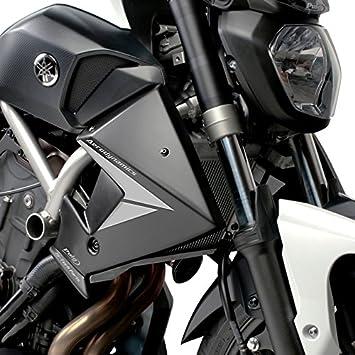 PUIG - 7561J : Tapas Radiador Mt 07 14' Color Negro Yamaha -> Mt-07 (14-15)