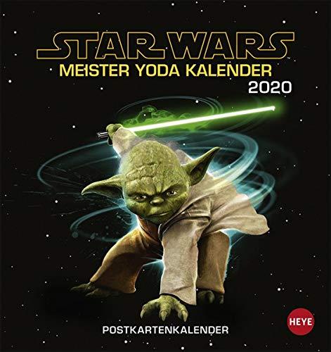 Star Wars - Meister Yoda Postkartenkalender 2020: Amazon.es ...