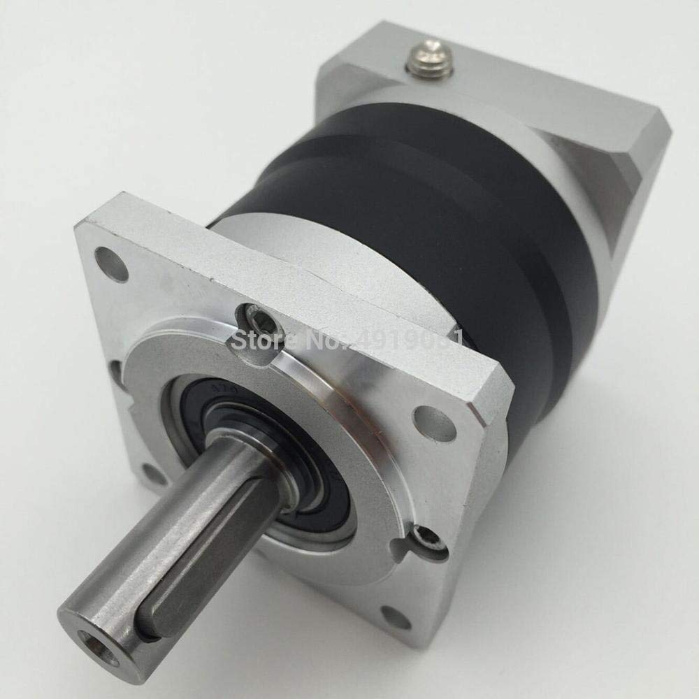 Fevas High Presicion 35:1 60mm Planetary Gearbox Geared Head 14MM Output Max 63Nm Shaft Matched with Nema24 Servo Motor Speed Reducer