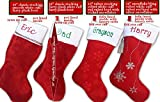 "18"" Personalized Christmas Stocking"