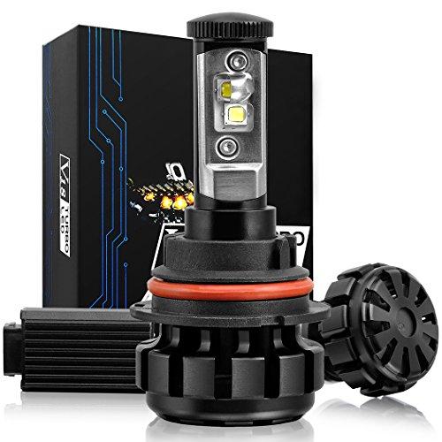 NINEO LED Headlight Bulbs Conversion Kit w/ Clear - 9007