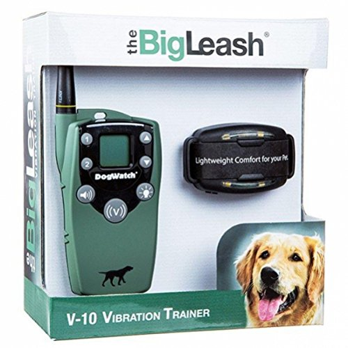 The BigLeash V-10 Vibration Dog Training Collar with FireFly Nightlight and ''In-Touch'' Two Way Communication by DogWatch by DogWatch