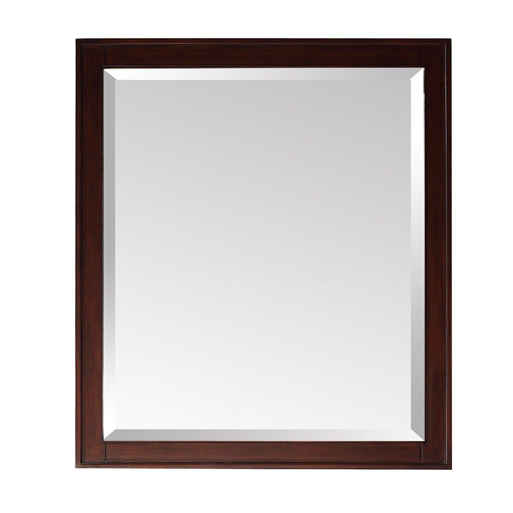 office desk mirror. amazoncom avanity madison 24 in mirror light espresso finish home u0026 kitchen office desk