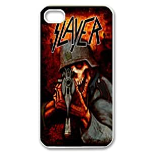 Printed Phone Case Band Slayer For iPhone 4,4S Q5A2113350