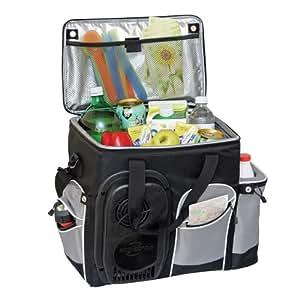 Koolatron 26-Quart Soft-Sided Electric Travel Cooler, Black