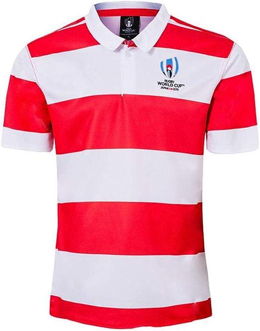 T-SHIRT 2019 Supporters Copa del Mundo Japón Polo Rugby Camiseta ...