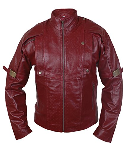 F&H Boy's Maroon Guardians of Galaxy Genuine Leather Jacket