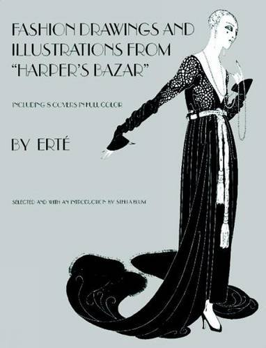 Designs by Erté: Fashion Drawings and Illustrations from