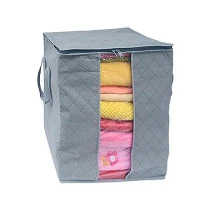 Caja de lona plegable para almacenamiento, Venta caliente caja de almacenamiento portátil organizador no tejida