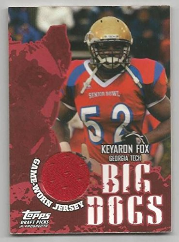 Football NFL 2004 Topps Draft Picks and Prospects #BD-KF Keyaron Fox #BD-KF NM Near Mint RC Rookie M ()