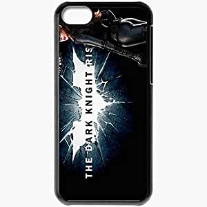 Personalized iPhone 5C Cell phone Case/Cover Skin Anne Hathaway Catwoman Movie Black