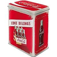 Nostalgic-Art Tin Box, Acciaio, Rosso, 14 x 20 x 10 cm