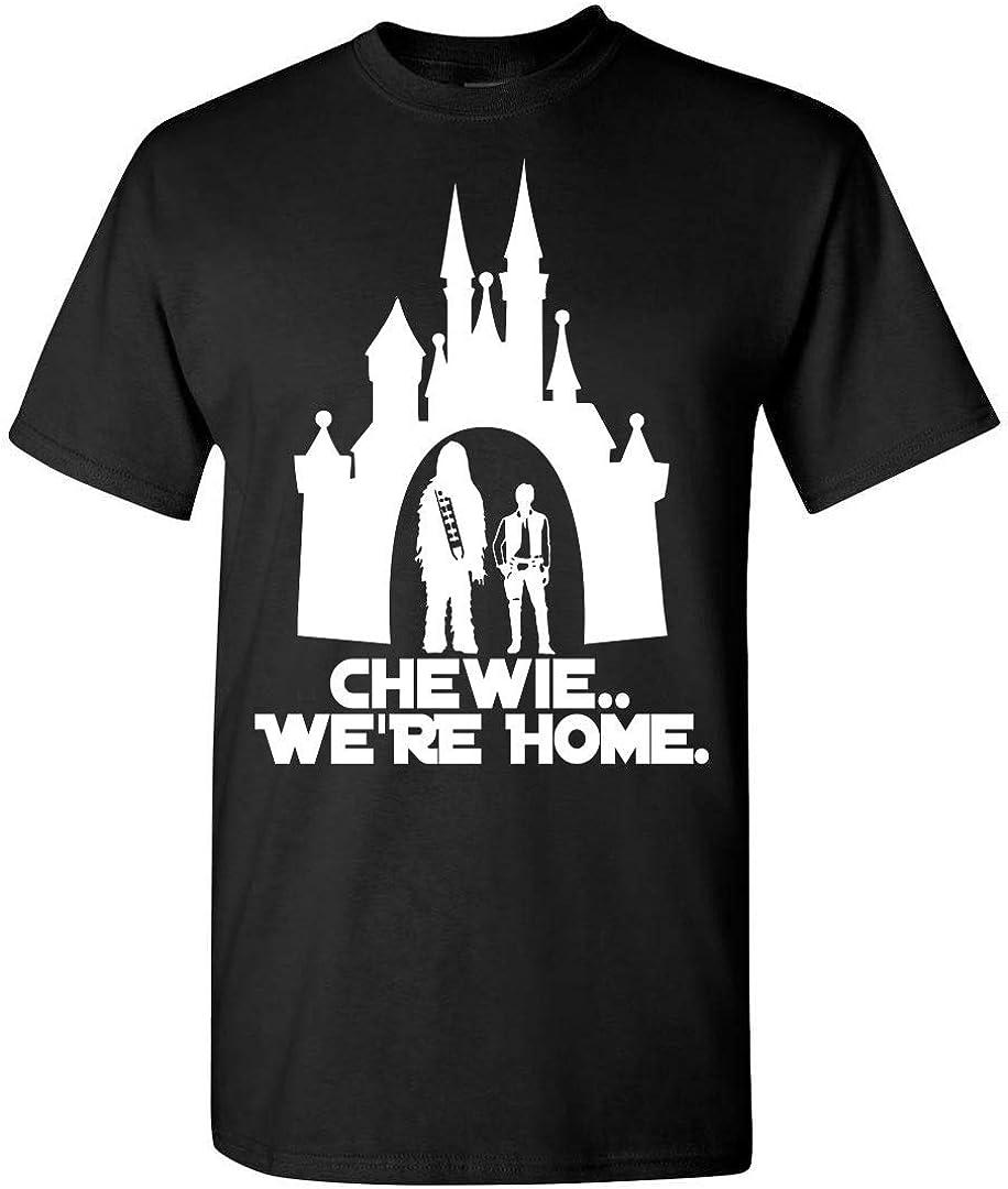 Star War Chewie We're Home T-Shirt Customized