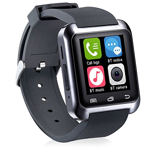 Singe Bluetooth 4.0 Smart Watch Bracelet for Smartphones Android Samsung S3S4S5 Note 2Note 3 Note 4 HTC Sony-Black