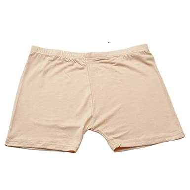 Women Safety Shorts Pants Leggings Seamless High Waist Plain Elastic Underwear