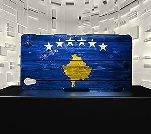 Funda Carcasa para Xpéria Z3 Bandera KOSOVO 02