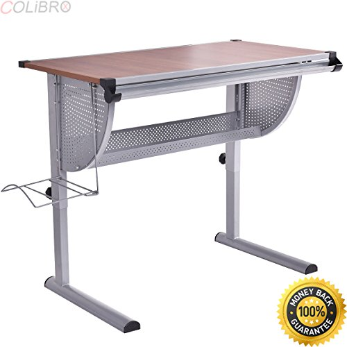 COLIBROX--Drafting Table Drawing Desk Adjustable Art & Craft Hobby Studio Architect Work. professional drafting table. best professional drafting table. architectural drafting table. by COLIBROX