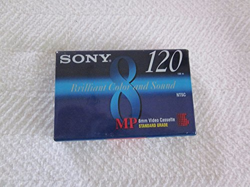 Camcorder Video Tape 8 mm Standard 120 Minutes by Sony