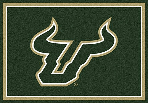 NCAA Team Spirit Door Mat - South Florida Bulls, 56'' x 94'' by Millilken
