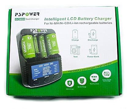 Amazon.com: DC5000 función de cargador de batería universal ...