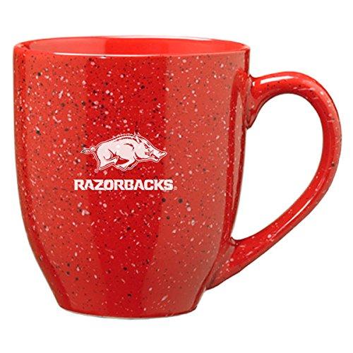 University of Arkansas - 16-ounce Ceramic Coffee Mug - Red