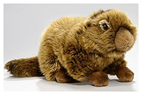 Carl Dick Marmot 10 inches, 25cm, Plush Toy, Soft Toy, Stuffed Animal