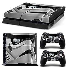 FriendlyTomato PS4 Console and DualShock 4 Controller Skin Set - Star Warrior - PlayStation 4 Vinyl VII 7