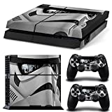 GoldenDeal PS4 Console and DualShock 4 Controller Skin Set – Star Warrior – PlayStation 4 Vinyl VII 7