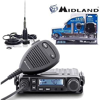 Midland M-Mini AM FM Multistandard Compact Radio Comtechlogic   CM-3000ANT Antenna