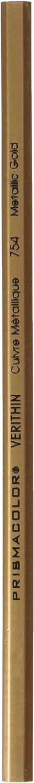 Prismacolor Verithin Colored Pencil, Metallic Gold