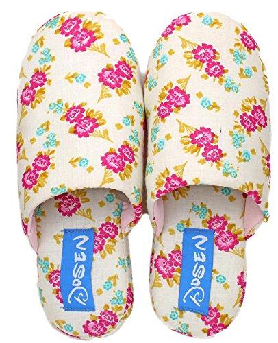 Le Pantofole Migliori Delle Pantofole Della Casa Del Panno Floreale Di Cotone Delle Donne Di Blubi