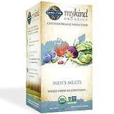 Garden of Life Multivitamin for Men - mykind Organic Men's Whole Food Vitamin Supplement, Vegan, 60 Tablets