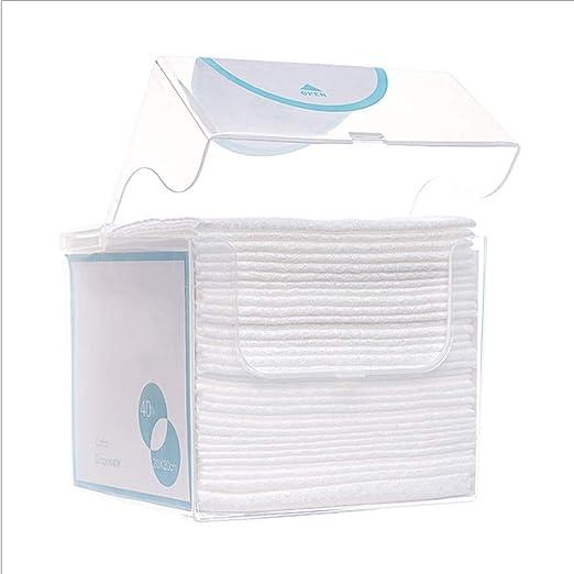 HBBOOI De 1Box 40Pcs desechables toalla que se lava la cara almohadillas de algodón cosmético algodón puro algodón toallitas secas y toallitas húmedas for bebés Maquillaje toallitas desechables Toalli: Amazon.es: Hogar