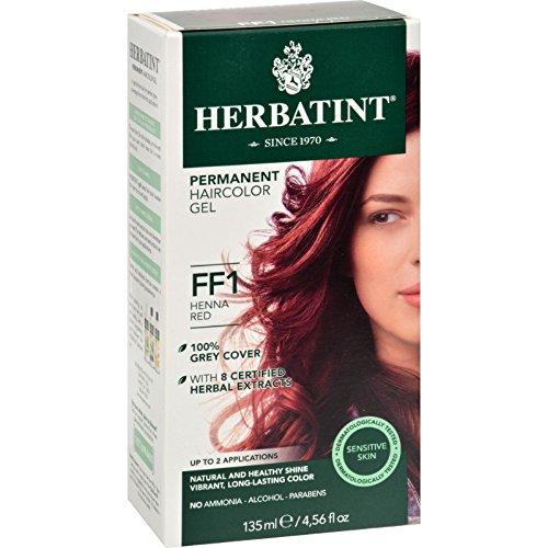 Herbatint Haircolor Kit Flash Fashion Henna Red FF1-1 Kit