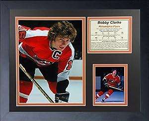 "Legends Never Die Bobby Clarke Philadelphia Flyers Collage Photo Frame, 11"" x 14"""