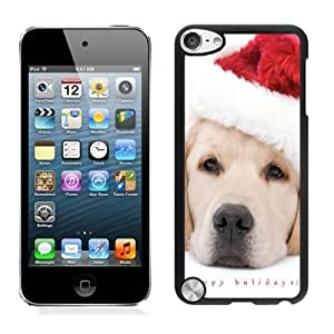 New Design Christmas Dog Black iPod Touch 5 Case 6