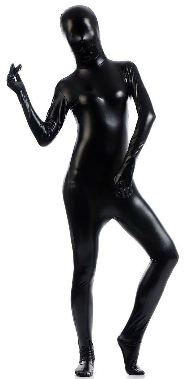 VSVO Women's Shiny Zentai Metallic Catsuit 51qC0xg4B1L