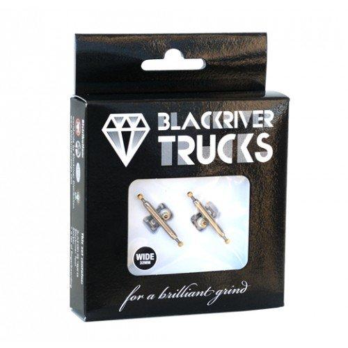 Blackriver Fingerboard Trucks Wide 2.0 silver/silver 32