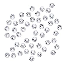 SWAROVSKI ELEMENTS Crystal Rhinestones, #2058 Flatback Xilion No Hotfix, ss16, 50 Pieces, Crystal