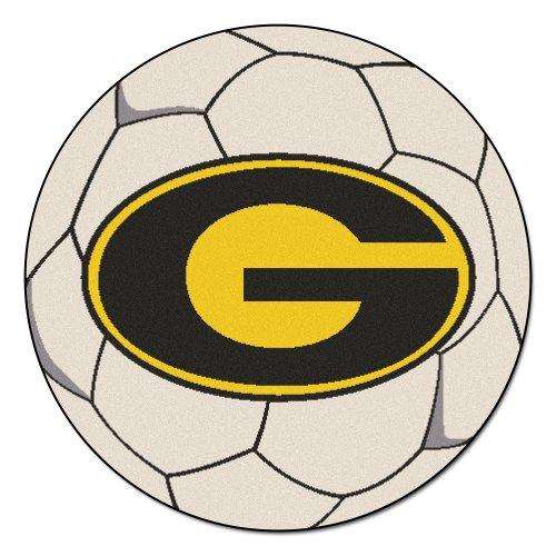 FANMATS NCAA Grambling State University Tigers Nylon Face Soccer Ball Rug